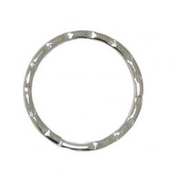 Rippled split ring 25mm