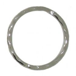 Rippled split ring 30mm